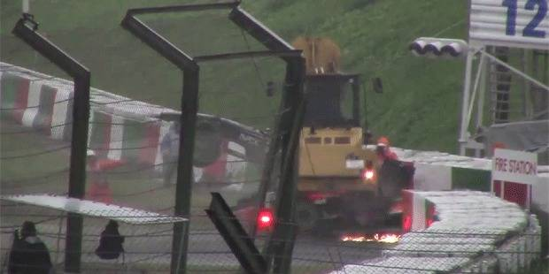 Bianchi: Découvrez la première vidéo du crash - La DH