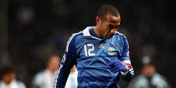 """Le crampon du jour : """"Thierry Henry casse Raymonde et la FGBT !"""" - La DH"""