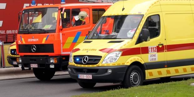Une dame renversée par un camion de pompiers en intervention - La DH