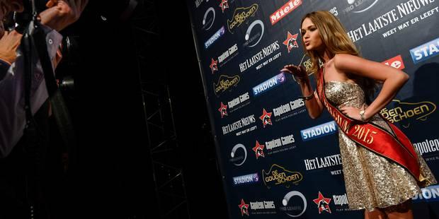 Soulier d'Or: Miss Belgique vole la vedette aux WAG's (PHOTOS) - La DH