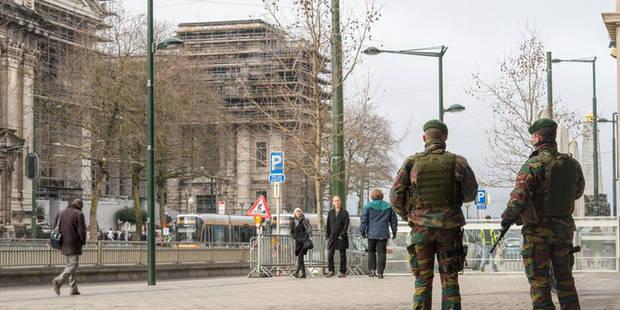 Alerte levée au Palais de Justice de Bruxelles - La DH