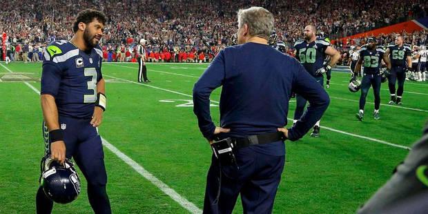 """Super Bowl: l'entraîneur de Seattle critiqué pour """"la pire décision de l'histoire"""" - La DH"""