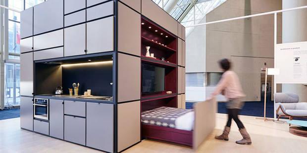Tout un appartement dans un petit 10 m³ - La DH
