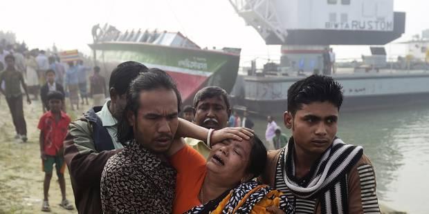 Bangladesh: 78 décès lors du nauvrage d'un ferry - La DH