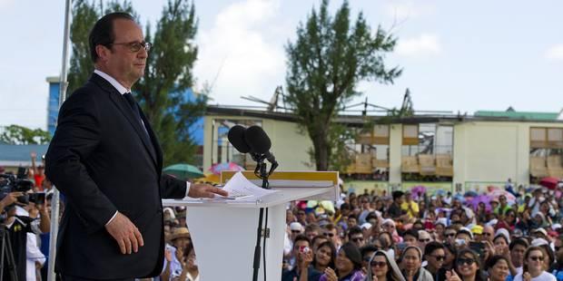 À Manille, Hollande a encore joué de malchance (VIDÉO) - La DH