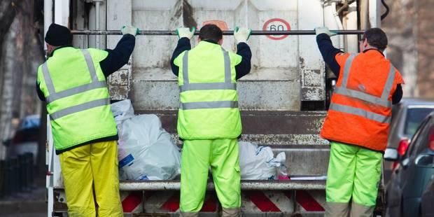 Dès 2016, les sacs blancs seront collectés une fois par semaine à Bruxelles - La DH