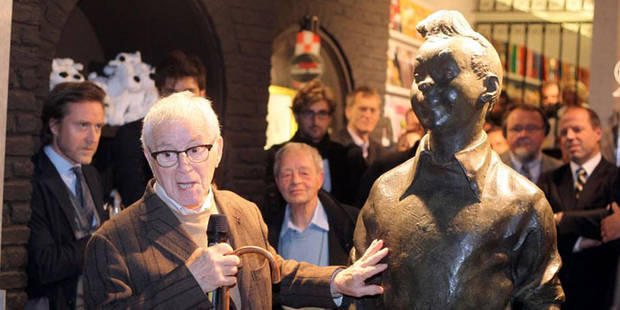 Tentative de vol de la statue de Tintin au Grand Sablon - La DH