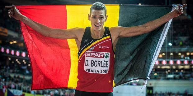 """Dylan Borlée médaillé d'argent à Prague: """"J'avais presque les larmes aux yeux"""" - La DH"""