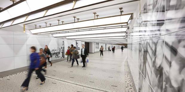 """La station de métro """"Gare Centrale"""" sera entièrement rénovée - La DH"""
