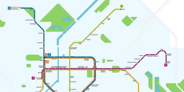 Le plan du métro bruxellois? en 2024! - La DH