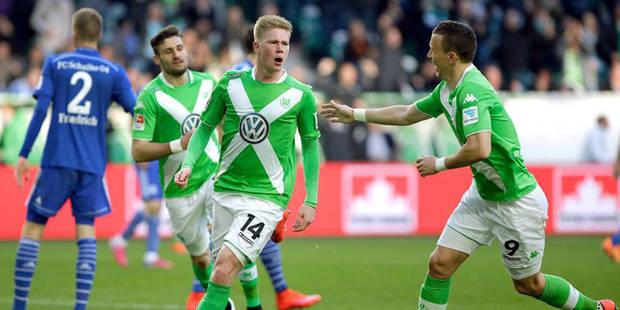 Bundesliga: de Bruyne sauve le nul pour Wolfsburg - La DH