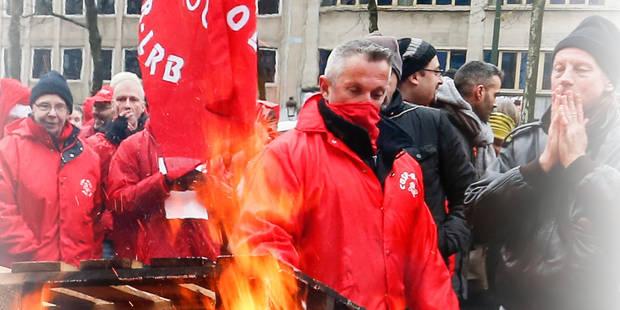 Printemps social: le pays sera à nouveau paralysé par les grèves mercredi - La DH