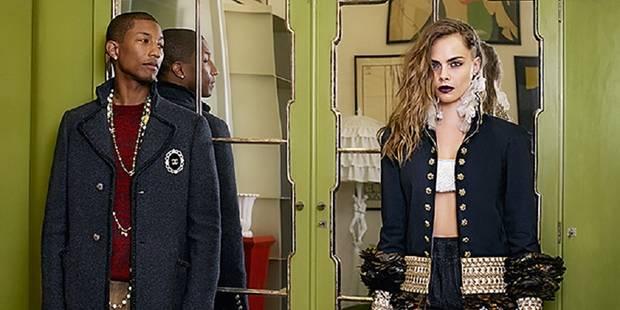 Cara Delevingne et Pharell Williams remettent le couvert pour Chanel - La DH