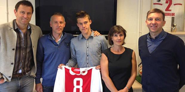 Vangeel paraphe son premier contrat pro au Standard - La DH