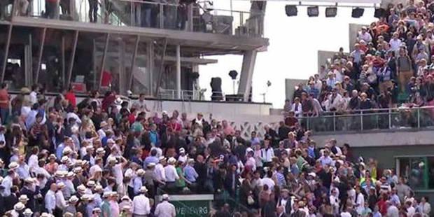 Roland-Garros: trois spectateurs légèrement blessés pendant le match Tsonga-Nishikori (VIDEO) - La DH