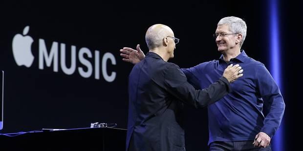 Keynote: Apple annonce un nouveau service de musique en streaming, Apple Music - La DH