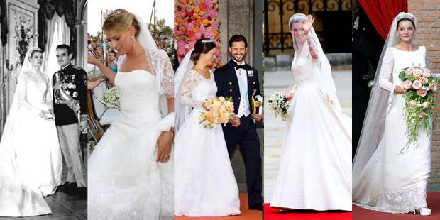 10 robes de mariées de princesses qui font rêver - La DH
