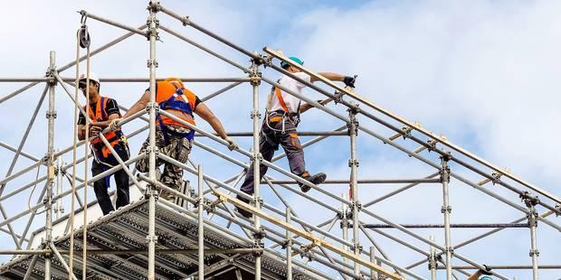 Les chantiers belges trop dangereux - La DH