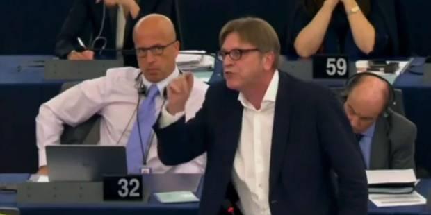 Quand Verhofstadt hurle sur Tsipras (VIDEO) - La DH