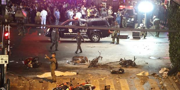 """27 morts et près de 120 blessés après une attaque à la bombe à Bangkok: les auteurs visaient les """"étrangers"""" - La DH"""