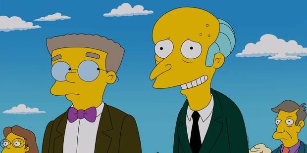 Les Simpson: Smithers va-t-il faire son coming-out ? - La DH