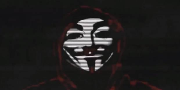 """Anonymous Belgique prépare une """"cyberattaque d'envergure"""" (VIDEO) - La DH"""