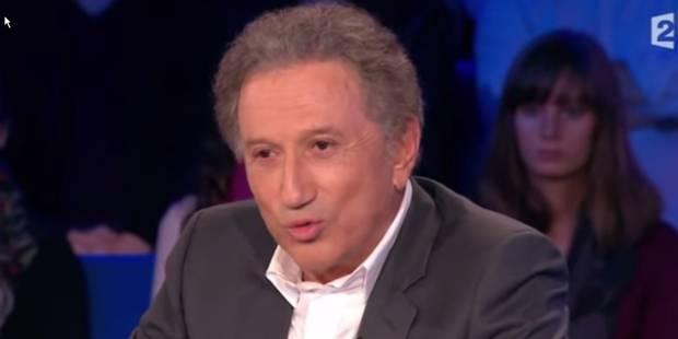 """Michel Drucker règle ses comptes chez Ruquier et insulte un journaliste de """"gros con"""" (VIDEO) - La DH"""