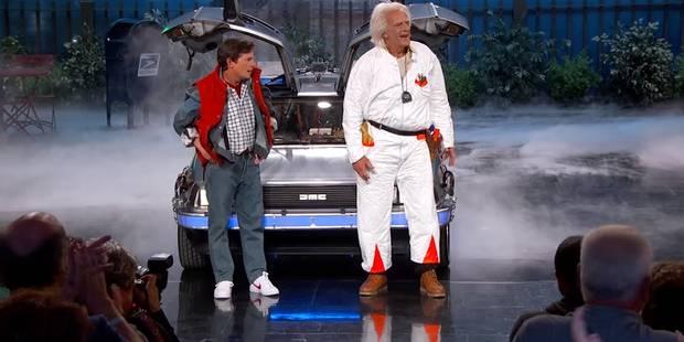 Jimmy Kimmel réunit Doc et Marty ! - La DH