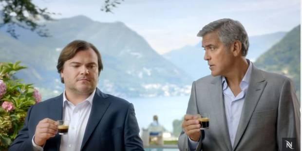 Nespresso : Jack Black parodie George Clooney... et se plante - La DH