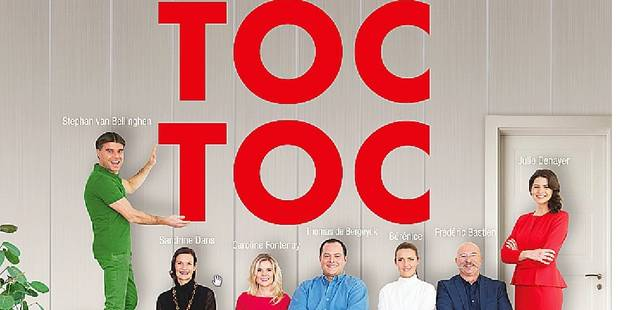Les animateurs de RTL présentent leur nouvelle pièce 'Toc Toc' - La DH