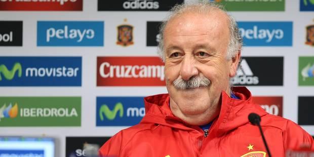"""Del Bosque: """"La Belgique est l'une des équipes favorites pour le titre à l'Euro"""" - La DH"""