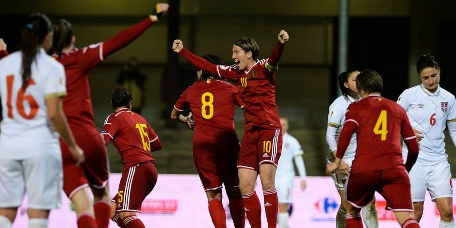 Euro 2017: les Red Flames partagent avec la Serbie (1-1 ...