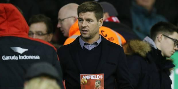 Steven Gerrard devrait arrêter sa carrière en 2016 - La DH