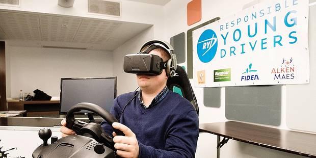 Un simulateur de conduite sous drogue pour sensibiliser les jeunes - La DH