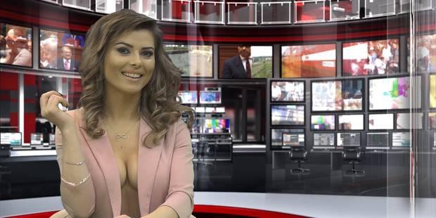 En Albanie, les infos TV présentées par de jolies filles nues - La DH