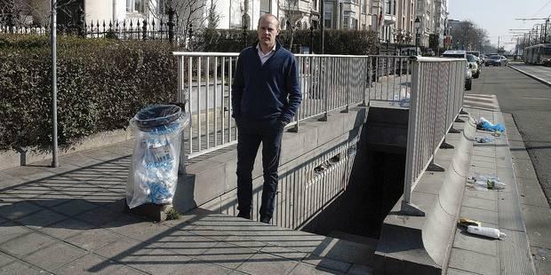 """Vincent De Wolf: """"Je crains un viol dans ce tunnel"""" - La DH"""