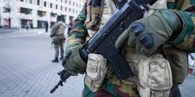 La présence de militaires dans les rues prolongée jusque mi-avril - La DH