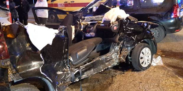 Accident grave à Doische: une personne grièvement blessée (VIDEO) - La DH