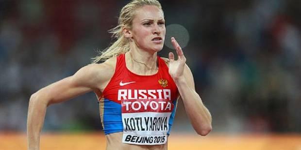Quatre athlètes russes contrôlés positif au meldonium - La DH