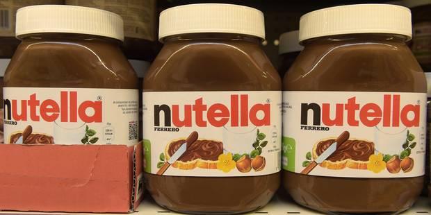 Palme d'or pour Nutella - La DH