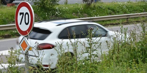 Plus de 8 millions d'euros d'amendes payés par les automobilistes étrangers - La DH