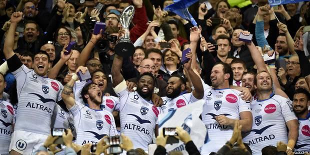 Rugby: Montpellier remporte le Challenge européen - La DH