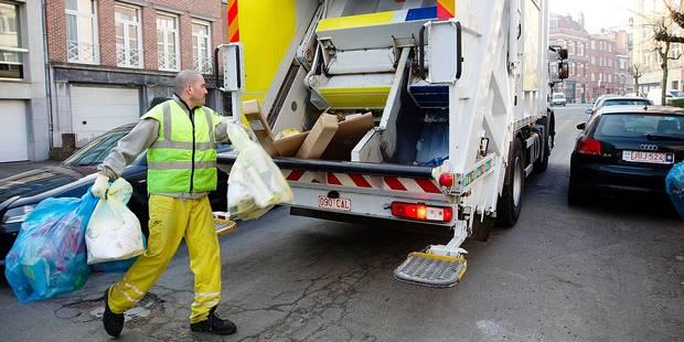 Fleurus: exit les sacs-poubelle blancs - La DH