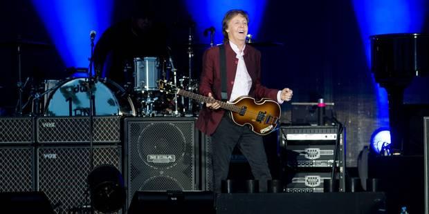 Paul McCartney à Werchter, la forme! (VIDEO) - La DH