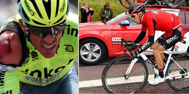 Tour de France: C'est déjà la catastrophe pour Porte et Contador - La DH