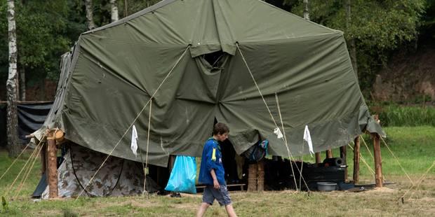 10 scouts percutent un poteau à Korbeek-Dijle: 9 avaient les yeux bandés - La DH