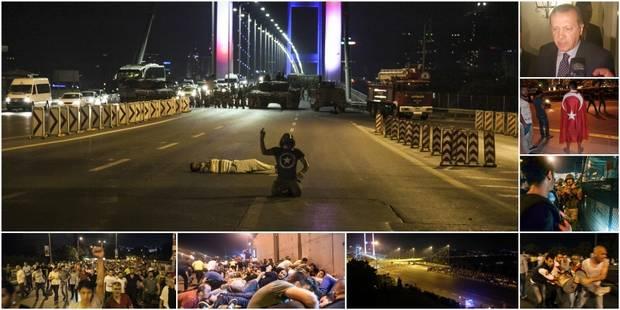 Putsch raté en Turquie: 265 morts, 1440 blessés, 1.563 militaires arrêtés (photos et vidéos) - La DH