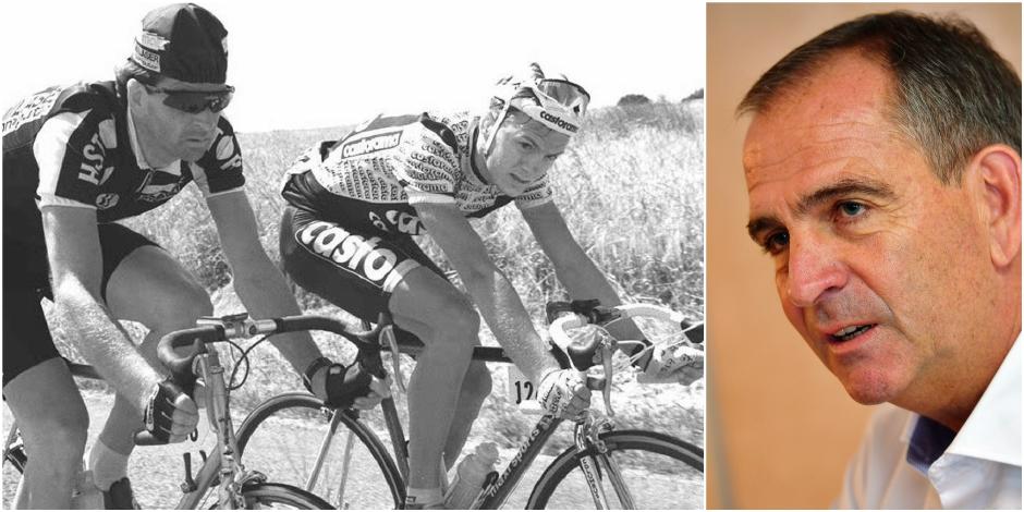 """Marc Sergeant se souvient de sa victoire sur le Tour: """"J'avais tellement de crampes que je n'ai pas pu lever le bouquet""""..."""