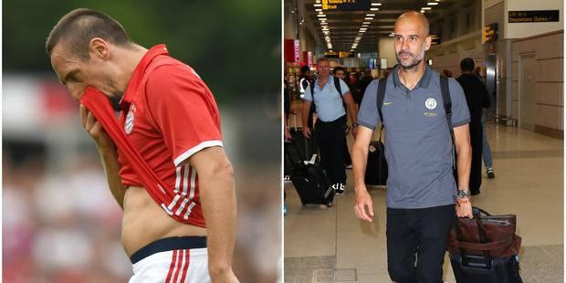 Ribéry recadré par le Bayern Munich - La DH