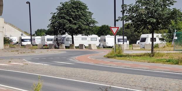 Les caravanes priées de déguerpir - La DH